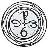CZM ZHB wanduhr Einfache Wanduhr Schmiedeeisen Mode Kreative Dekorative Wanduhr Europäischen Schlafzimmer Stille Uhr 50 * 50 cm