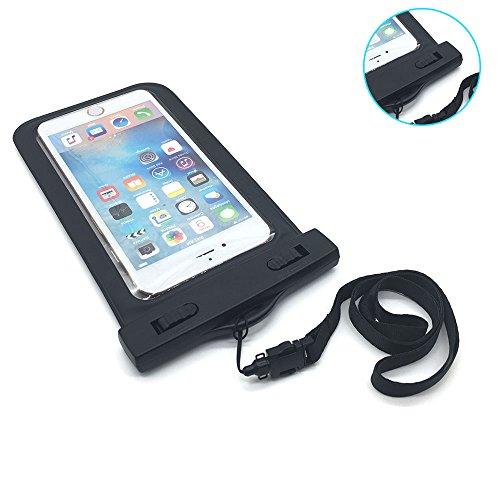 Eizur Custodia Impermeabile IPX8 Certificato, Custodia Cellulare Impermeabile Sacchetto Universale 6 Pollici per iPhone 6 6S Plus/5/5s/5c, Galaxy S7/S7 Edge/S6/S5/S4, Note3/4 LG G5/G3, Huawei P9/8