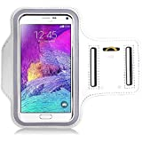 SMILEDRIVE® Armband Case for Samsung Note 4 -Take Your Phone for A Jog