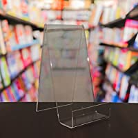 EPOSGEAR XL Extra Large Plastic Acrylic Perspex Book Plate Retail Display Stand Holder - Perfect for Schools, Nurseries, Libraries etc