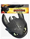 Dragons - Drachenzähmen leicht gemacht 2, How to train your Dragon 2 - Toothless Ohnezahn - Maske Papp Maske, aus hochwertigem Glanzkarton mit Augenlö