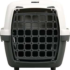 Trixie 39811 trasportino 48x32x31 cm colore grigio for Trasportino per cani amazon