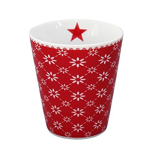 Krasilnikoff Mug Diagonal red