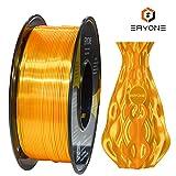Filamento PLA 1.75 mm Filamento Oro Ultra Seta, Eyone Filamento Lucido Setoso PLA 1.75 mm, Filamento Stampa 3D PLA per Stampante 3D e Penna 3D, 1 kg 1 Bobina