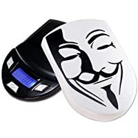DIPSE DIPSE Guy 4260215941208–Bilancia digitale tascabile nel design compatto con sollievo della copertura Fawkes Maschera, 500G -  Confronta prezzi e modelli
