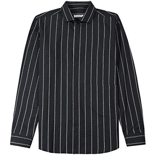 Versace Kollektion Streifen Logo Shirt Large Black