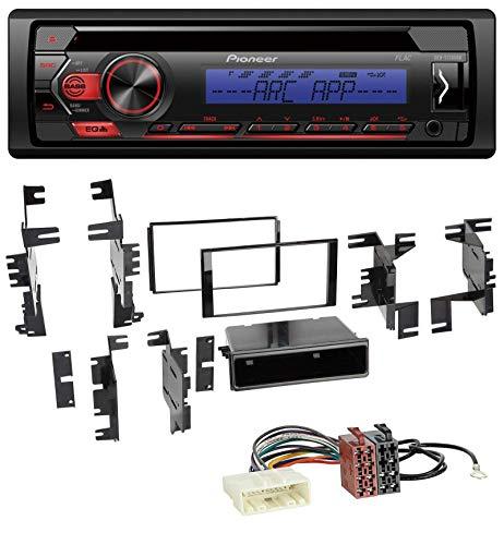 caraudio24 Pioneer DEH-S120UBB AUX MP3 USB CD 1DIN Autoradio für Nissan Quest Rogue ab 11 Titan ab 13