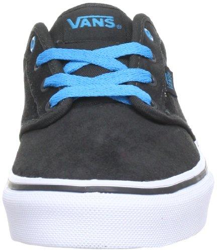 Vans Y ATWOOD VUDT8TT Unisex-Kinder Sneaker Schwarz (suede/raven/ha)