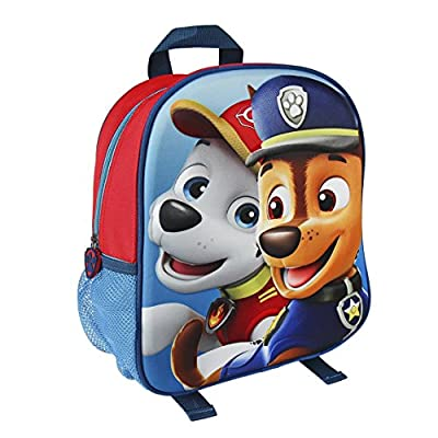 Paw Patrol La Patrulla Canina 2100001958 Mochila Infantil por Artesanía Cerdá