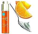Vitamin C Feuchtigkeitscreme Anti-Ageing Schutz, Antiflecken & natürliches Aufhellen ● Exzellent für normale und trockene Haut 50 ml