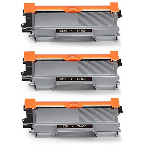 HITZE TN2220 Alta Capacidad Cartucho de Toner 3 negro Compatible para Brother tn 2220 hl 2240 2240d 2250dn 2270dw dcp 7060d 7065dn 7070dw mfc 7360n 7460dn 7860dw fax 2840 2845 2940 impresora