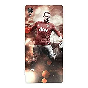 Neo World Red Art Back Case Cover for Xperia Z4