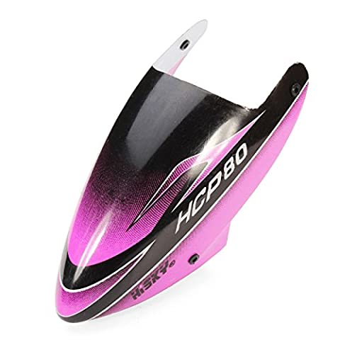 Bluelover Hisky HCP80 V2 RC Helicopter Spare Parts Canopy Purple 800377