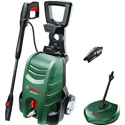 Precise Engineered Bosch SX-ProSPEC AQT 35-12 PLUS Electric Pressure Washer with Patio Cleaner 120 Bar 1500w 240v [Pack of 1] - w/3yr Rescu3® Warranty by Bosch Tooling LTD