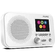 Pure Elan IR5 - Radio Internet avec Bluetooth et Spotify Connect, Blanc