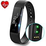 Fitness Tracker, DeYoun Braccialetto Fitness Intelligente Bluetooth 4.0 Activity Tracker con...