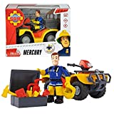 Feuerwehrmann Sam - Fahrzeug Geländewagen Quad Mercury & Spielfigur Sam Vergleich