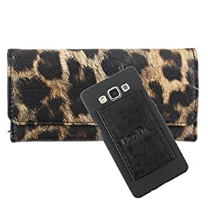 DooDa PU Leather Wallet Flip Case Cover With Card & ID Slots For iBall Andi 5 M8 - Back Cover Not Included Peel And Paste