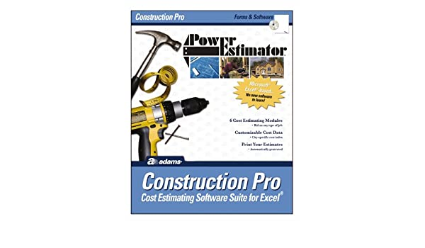 Adams PowerEstimator Construction Pro Estimating Software