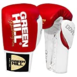 Greenhill Boxing Gloves Dove ( Red/White , 8 OZ )