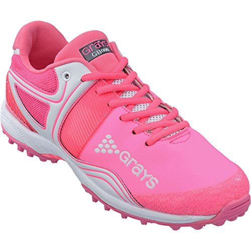 Grays GRAYS G9000 Womens Hockey Shoe - Pink - UK 9 by