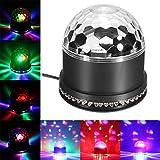 Besmall 9W Lumières Strobe Stade Strobe Billes Disco DJ Crystal Stage Magic Ball Musique Spiders Web Net