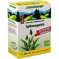 Schoenenberger Spitzwegerich Saft, 3x200 ml preisvergleich bei billige-tabletten.eu
