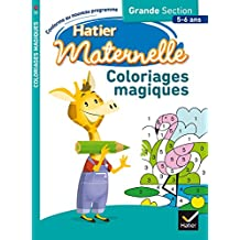 amazon fr coloriage magique maternelle livres