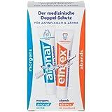 Elmex Lot de 5 packs de 2 tubes de dentifrice 12 ml Format voyage