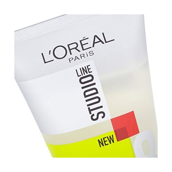 Gel Fix & Style de la línea Studio Line, de L'Oreal Paris, 150 ml