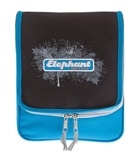 Elephant Trousse Beauty Case suspendre/suspendre Trousse de toilette, BLAU SCH (Blau Schwarz) (Bleu) - 12401 Blau