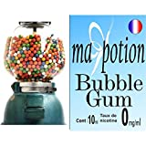 MA POTION - E-Liquide Saveur Bubble gum, Eliquide Français Ma Potion, recharge liquide pour cigarette électronique. Sans nicotine ni tabac