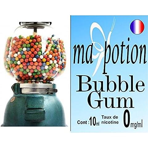 Sans Nicotine - MA POTION - E-Liquide Saveur Bubble gum,