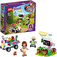 LEGO Friends 41425 Olivia's Flower Garden Building Set with Mini Doll, Robot Figure and Accessories Toy fo