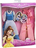 Disney Princess Y5105 Belle Fashions Outfit 2-Pack - Doll Not Included