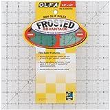 Olfa QR9S Quilten Lineal Anti-Rutsch, 9,5 x 9,5 Zoll