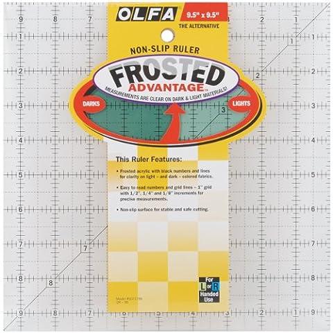 OLFA QR9S 1-Piece Acrylic Quilt Ruler,
