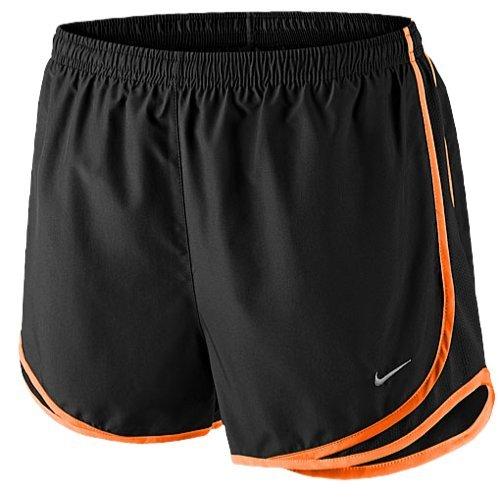 Nike New tempo short Track Jacket, schwarz/gelb (Black/Black/Bright Citrus), Small (Shorts Gelb-track)
