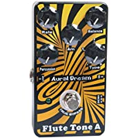 Aural Dream Flute Tone A Synthesizer Guitar Effects Pedal based on organ including harmonic flute,concert flute,theater flute and d'Amour flute with percussion decay control.
