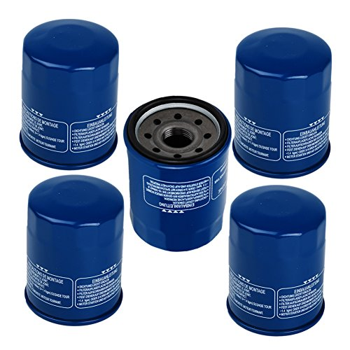 OxoxO (Pack of 5) Oil Filter Replace for Part # 15400-PLM-A02