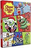 Chupa Chups Adventskalender Süßes Fest, 24 Lutscher- und Kaugummi-Überraschungen zu Weihnachten 2019, Alternative zum Kalender mit Schokolade