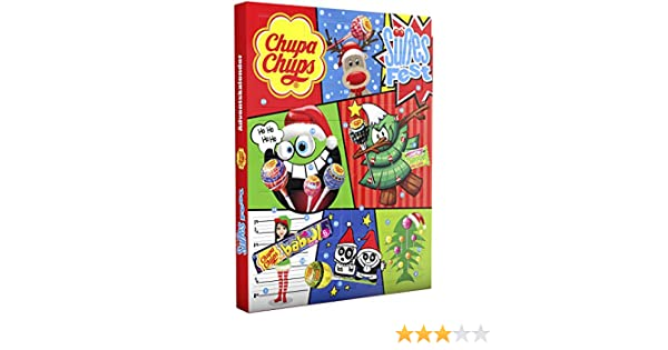 Chupa Chups Calendrier De Lavent Lot De 3