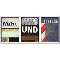 """Postkarten Set""""Nähe und Abstand"""""""