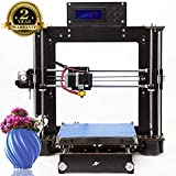 3D Drucker Prusa I3 DIY Desktop 3D Drucker , Hochpräzises und schnelles Drucken von 3D-Modellen (120mm/s), Printer with 1.75mm ABS/ PLA (I3 3D-Drucker)-Colorfish