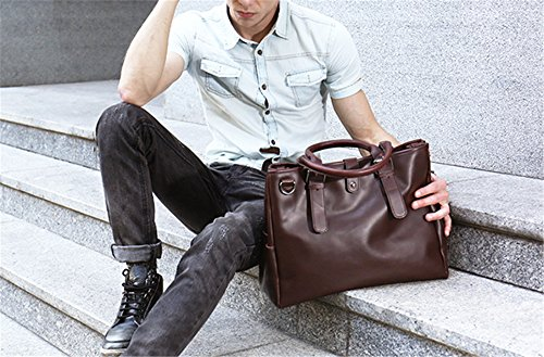 Xinmaoyuan uomini borsette Casual Borsetta tracolla trasversale obliqua Package Wild Men Bag,marrone Brown