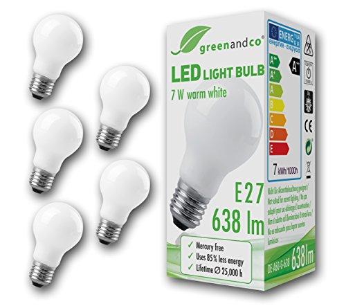 5x-greenandcor-led-lampe-ersetzt-50-watt-e27-birne-matt-7w-638-lumen-3000k-warmweiss-360-230v-ac-nur
