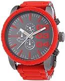 Diesel - DZ4289 - Montre Homme - Quartz Chronographe - Chronomètre - Bracelet Divers matériaux Rouge