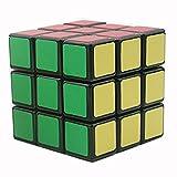 Bigood Cube Magique 3x3x3 Adulte Enfant Puzzle Jouet Match Vitesse
