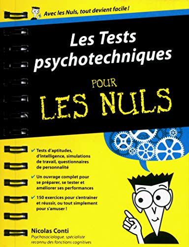 Tests psychotechniques pour les Nuls par Nicolas CONTI