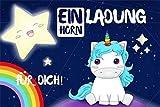 *SONDERANGEBOT* Einhorn Einladungskarten zum Kindergeburtstag für Mädchen - Geburtstagseinladungen für Kinder mit Motiv: Unicorn - 8 Stück